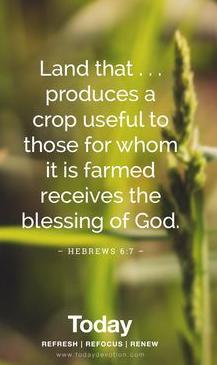 Hebrews 6.7