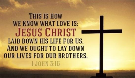 1 John 3.16