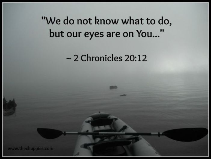 2 Chronicles 20.12a