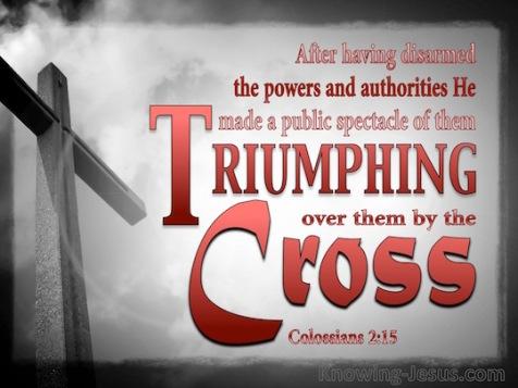 Colossians 2.15