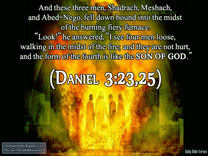 Daniel 3.23,25