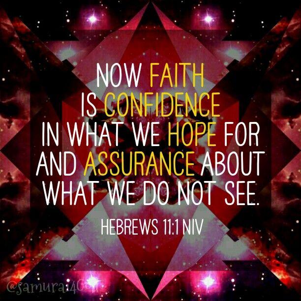 Hebrews 11.1a