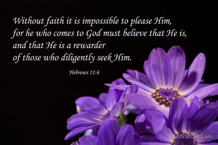 Hebrews 11.6