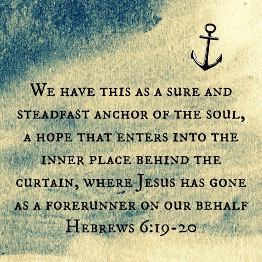 Hebrews 6.19-20
