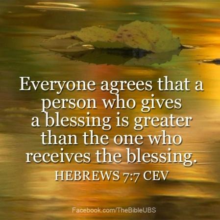 Hebrews 7.1