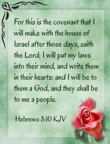 Hebrews 8.10