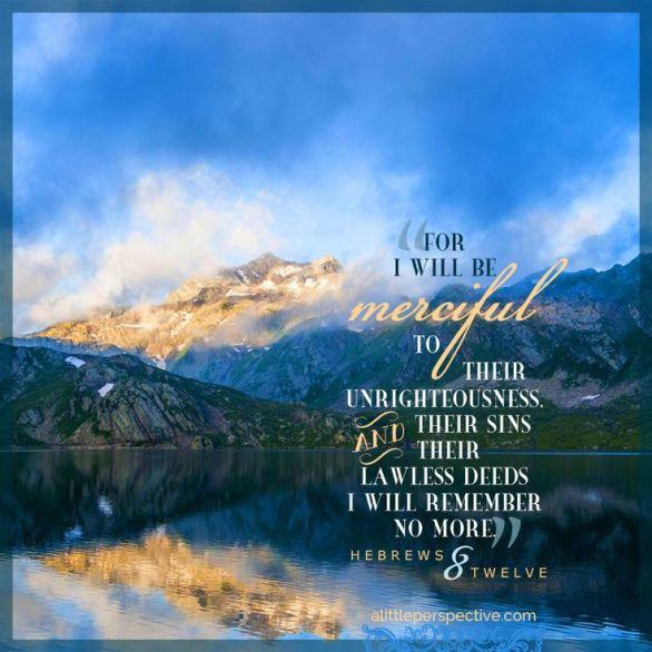 Hebrews 8.12