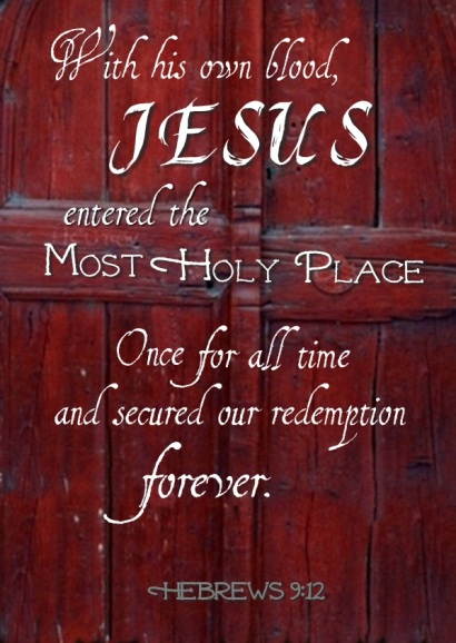 Hebrews 9.12