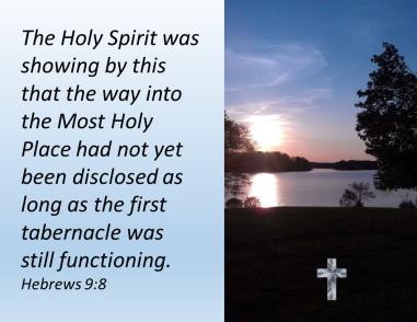 Hebrews 9.8