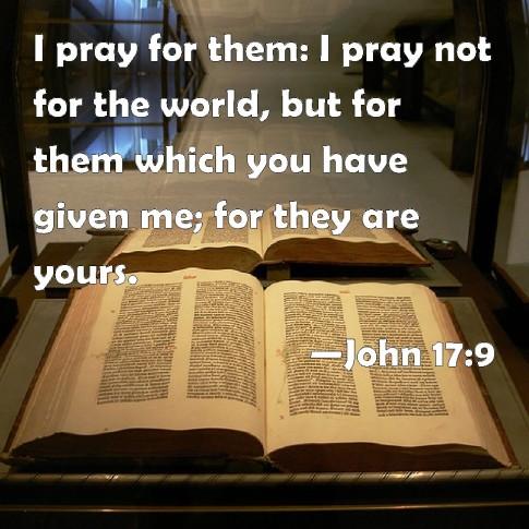 John 17.9