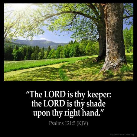 Psalm 121.5