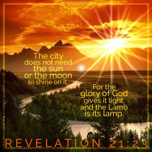 Revelation 21.23