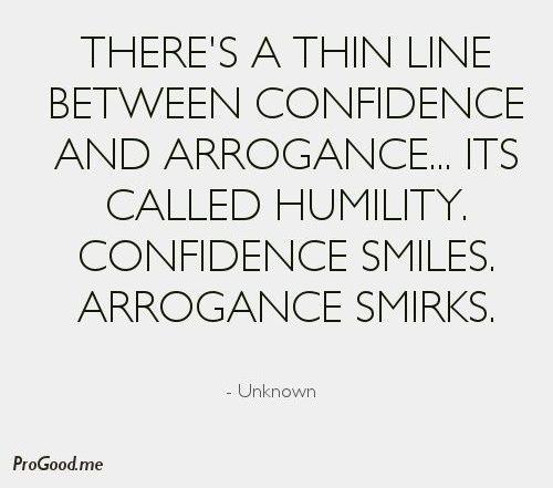 Arrogance 3