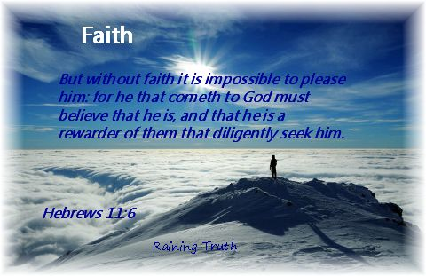 Faith pleases