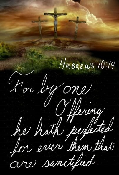 Hebrews 10.14a