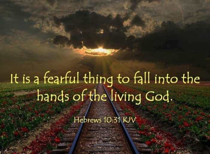 Hebrews 10.31