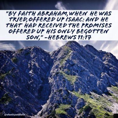 Hebrews 11.17