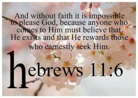 Hebrews 11.6a