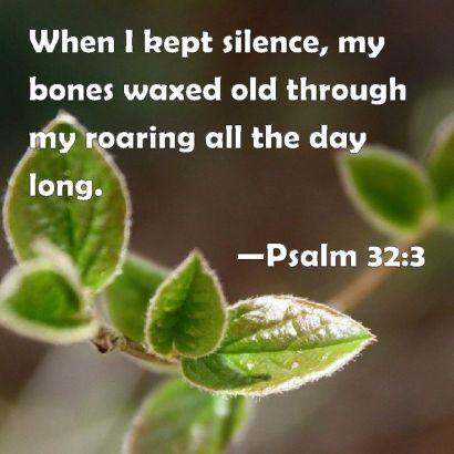 Psalm 32.3