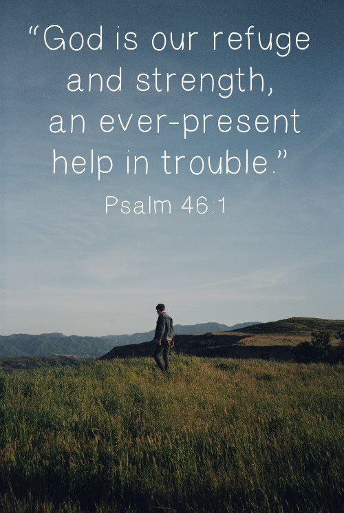 Psalm 46.1c