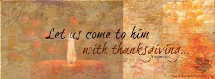 Psalm 95.2a