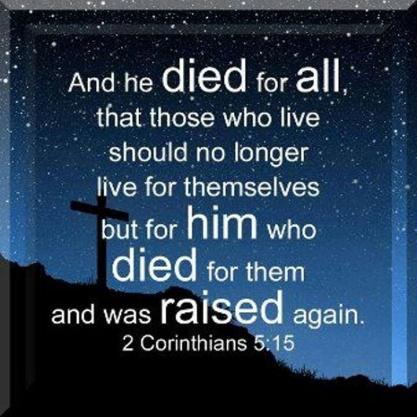 2 Corinthians 5.15