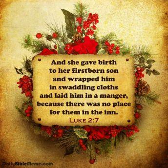 Luke 2.7
