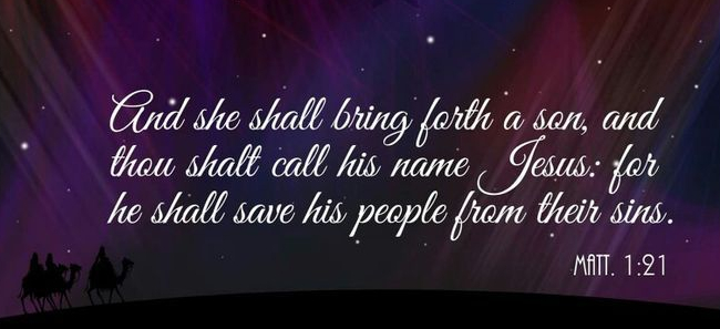 Matthew 1.21a