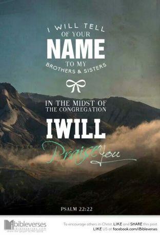 Psalm 22.22