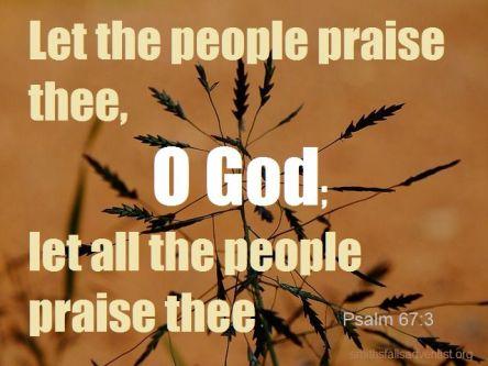 Psalm 67.3