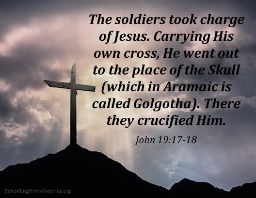John 19.17-18
